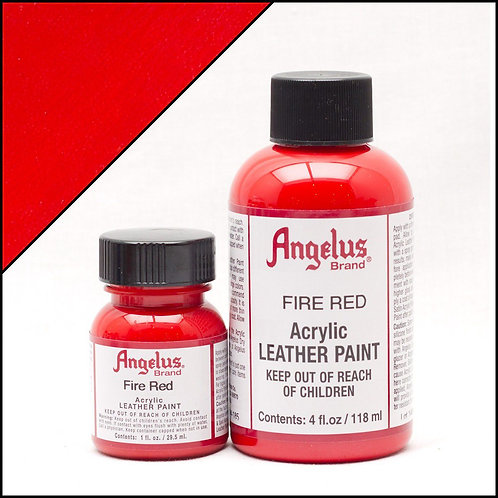 Angelus Leather Paint - Fire Red