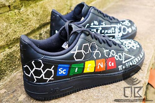 Custom Nike Air Force 1 Low (Science)