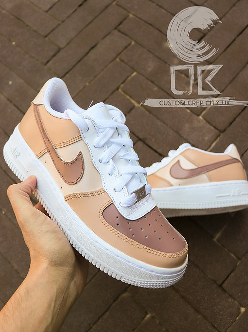 Custom Nike Air Force 1 Low (Toffee Takeover)
