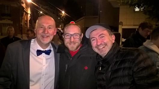 Dr Bonnet, Marius Colucci et Gérald Dahan