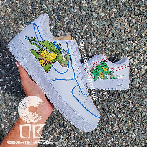 Custom Nike Air Force 1 Low (TMNT - Teenage Mutant Ninja Turtles)
