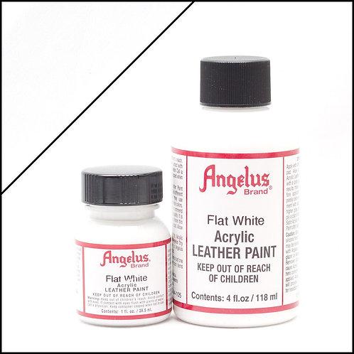 Angelus Leather Paint - Flat White