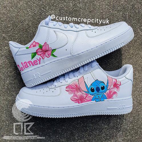 Custom Nike Air Force 1 Low (Stitch)