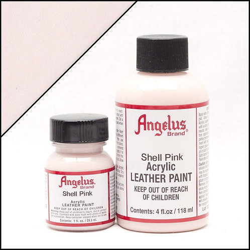 Angelus Leather Paint - Shell Pink