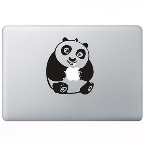 Custom Kung Fu Panda Sticker, Macbook Sticker, Personalized Stencil