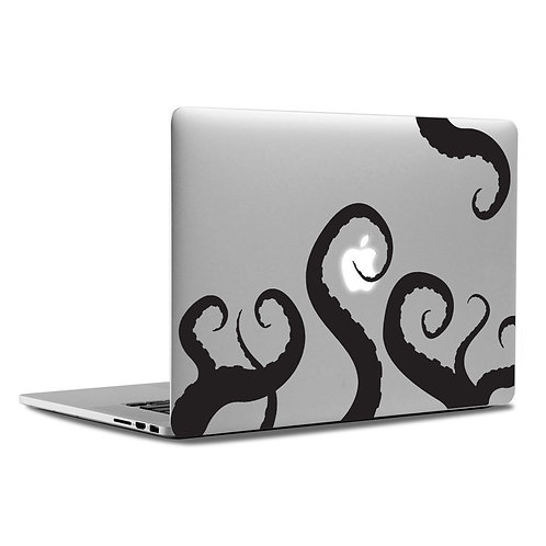 Custom Octopus Tentacles Sticker, Macbook Sticker, Personalized Stencil