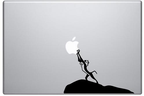 Custom Lion King Decal Sticker, Macbook Sticker, Personalized Stencil, Vinyl