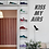 Thumbnail: Kiss My Airs Wall Sticker Removable Vinyl Bedroom Living Room Art Wall Decal