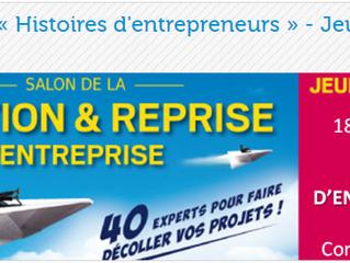 Histoires d'Entrepreneurs à la CCI de Bayonne le 8 juin