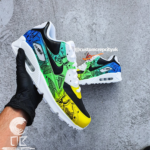 Custom Nike Air Max 90 (Jungle Fever)