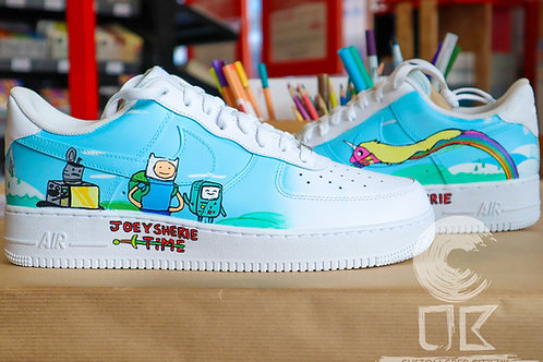 Custom Nike Air Force 1 Low (Adventure Time)