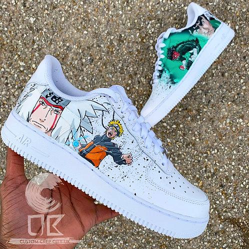 Custom Nike Air Force 1 Low (Naruto)