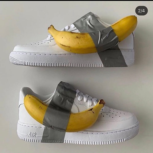 Custom Nike Air Force 1 Low (Banana Force 1)