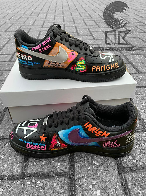 Custom Nike Air Force 1 Low (A$AP Bari – Playboy x VLONE)