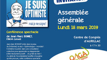 18 mars : consultation d'optimologie pour l'OMGA Cantal