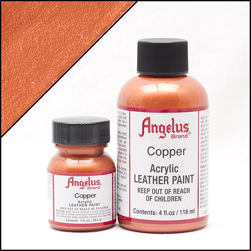 Angelus Metallic Leather Paint - Copper