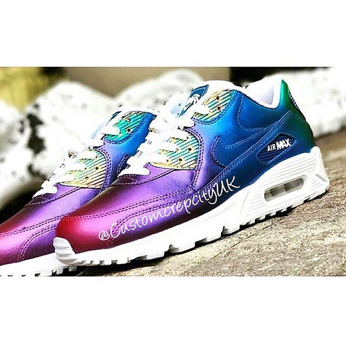 Custom Nike Air Max 90 (Pearlescent Fusion)