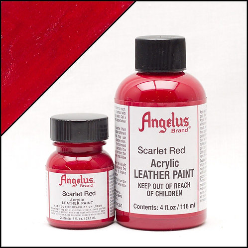 Angelus Leather Paint - Scarlet Red
