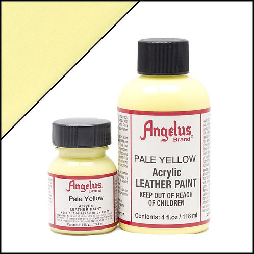 Angelus Leather Paint - Pale Yellow