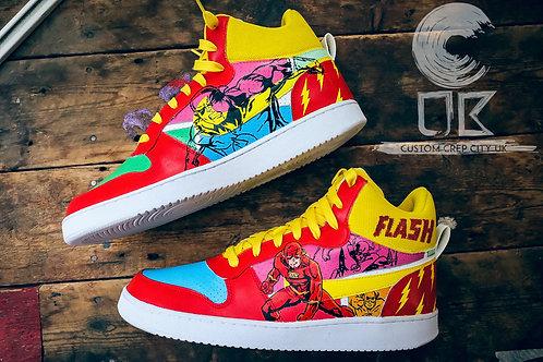 Custom Nike Court Borough Mid (Flash)