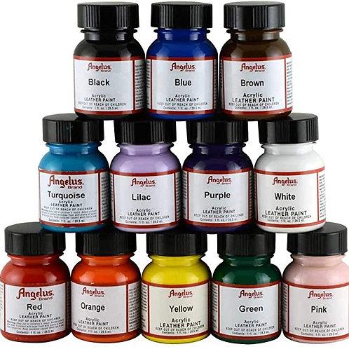 Angelus 12 Colour Assortment Kit
