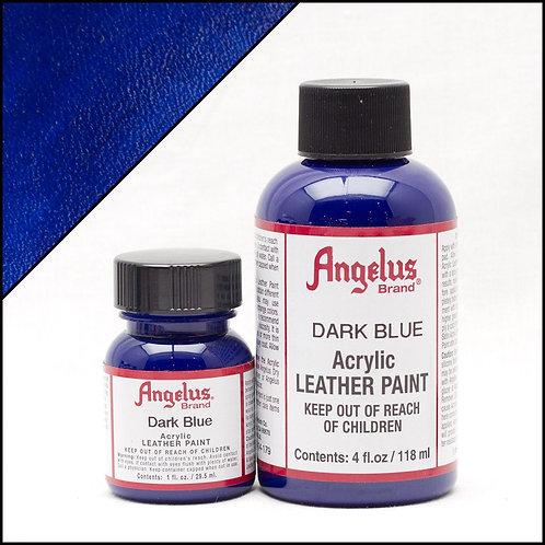Angelus Leather Paint - Dark Blue