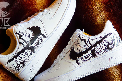 Custom Nike Air Force 1 Low (Midnight Stare)