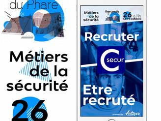 Forum emploi sécurité-sûreté avec UNESSD/C-secur