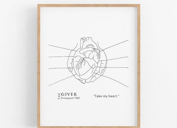 Enneagram 2 - The Giver - Digital Download