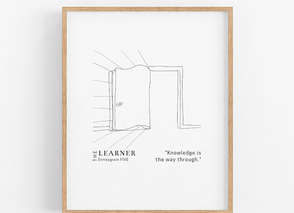 Enneagram 5 - The Learner - Digital Download