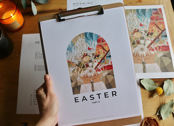 Easter: Part II Study (full color with artwork)