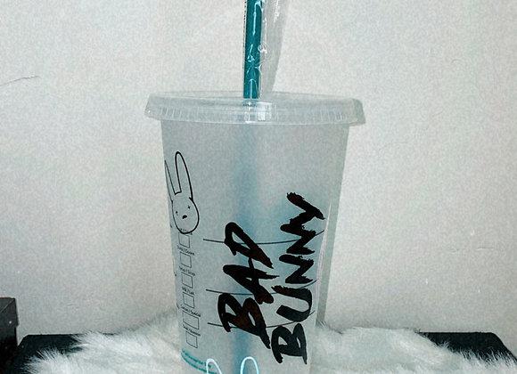 Bad Bunny/Starbucks Cup
