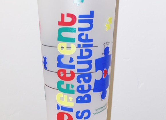 Autism Awareness Cold Cup