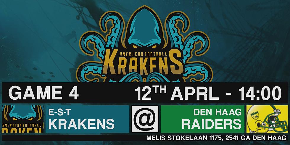 Krakens VS Raiders In Den Haag