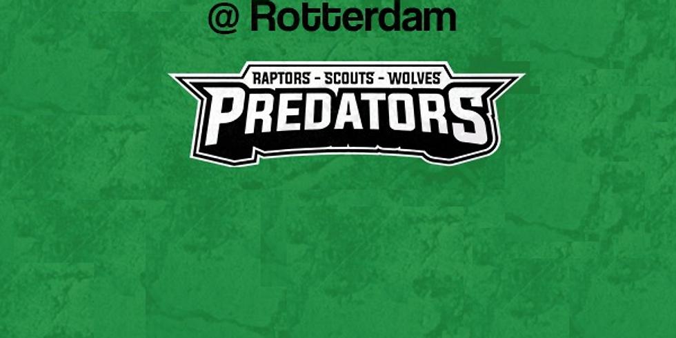 Predators  VS  Trojans in Rotterdam