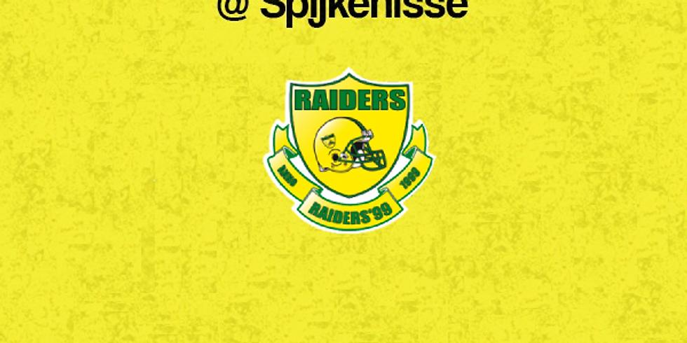Predators  VS  Raiders in Spijkenisse