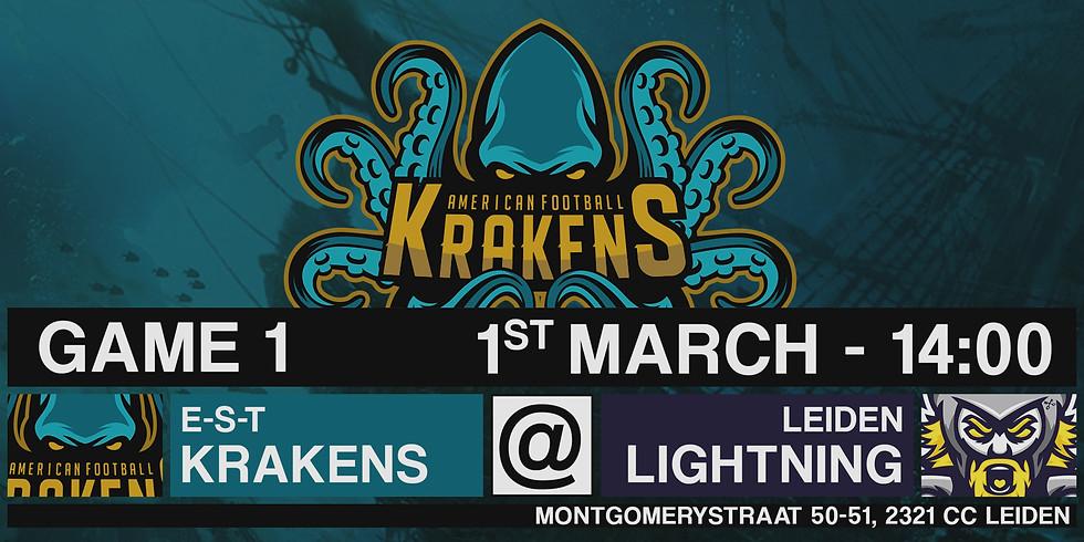 Krakens VS Lightning In Leiden