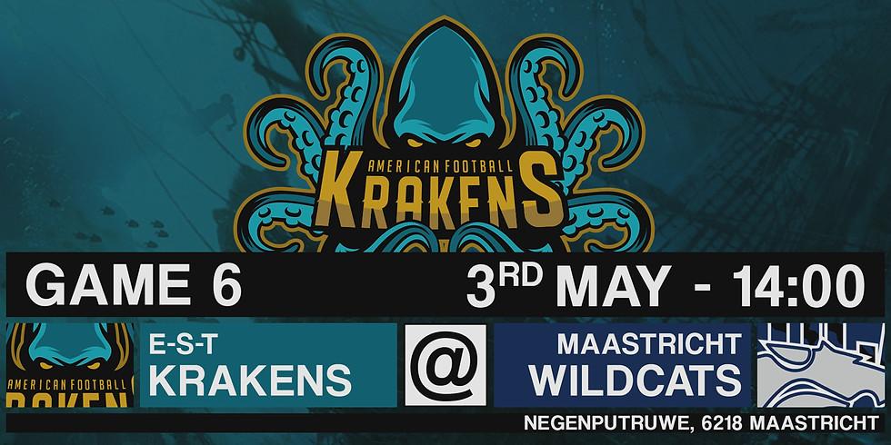 Krakens VS Wildcats In Maastricht