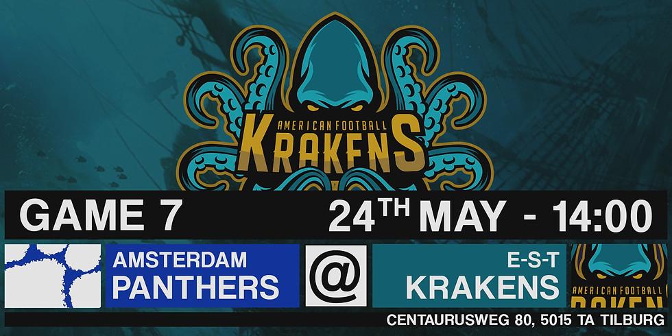 Krakens VS Panters In Tilburg