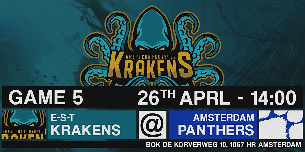 Krakens VS Panters In Amsterdam