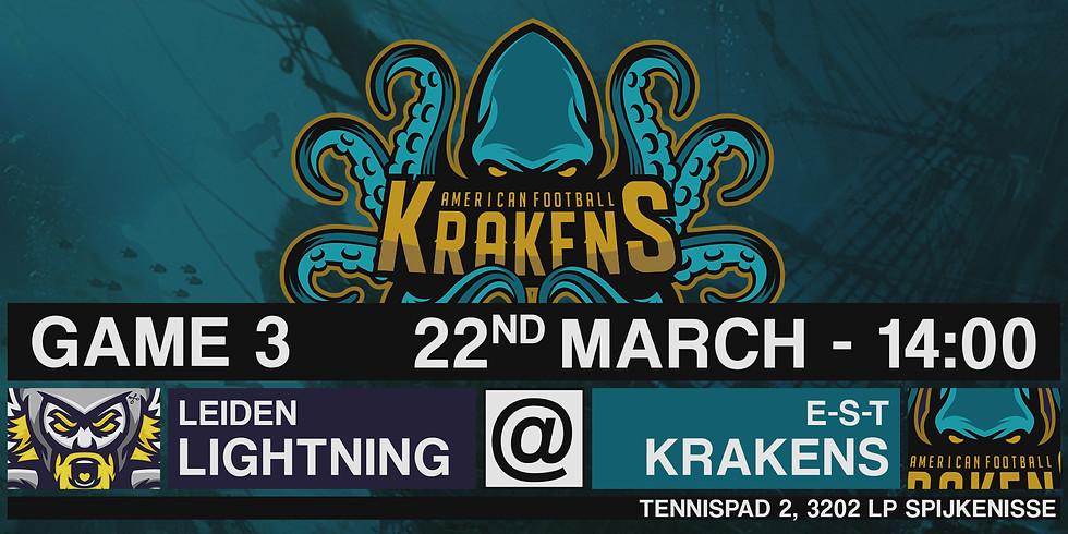 Krakens VS Lightning In Spijkenisse