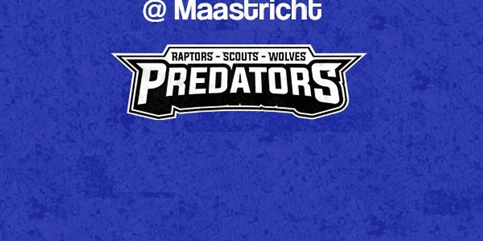 Predators  VS  Wildcasts  In Maastricht