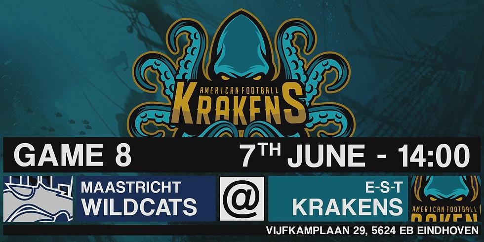 Krakens VS Wildcats In Eindhoven