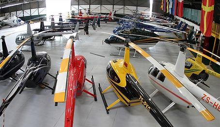 helicopter, sheliport, hangar