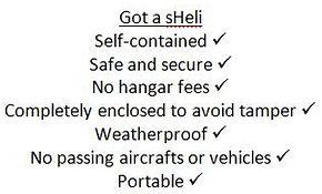 sheliport, sheli-port, helicopter, helicopter storage
