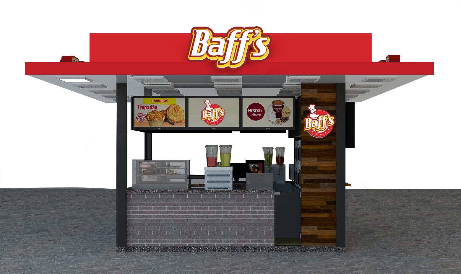 Modelo de Quiosque da Baff's