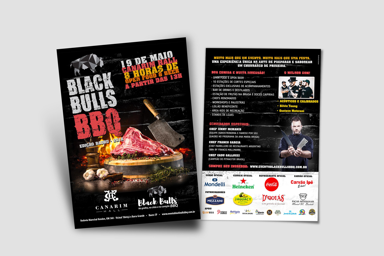 Flyer de divulgação do evento