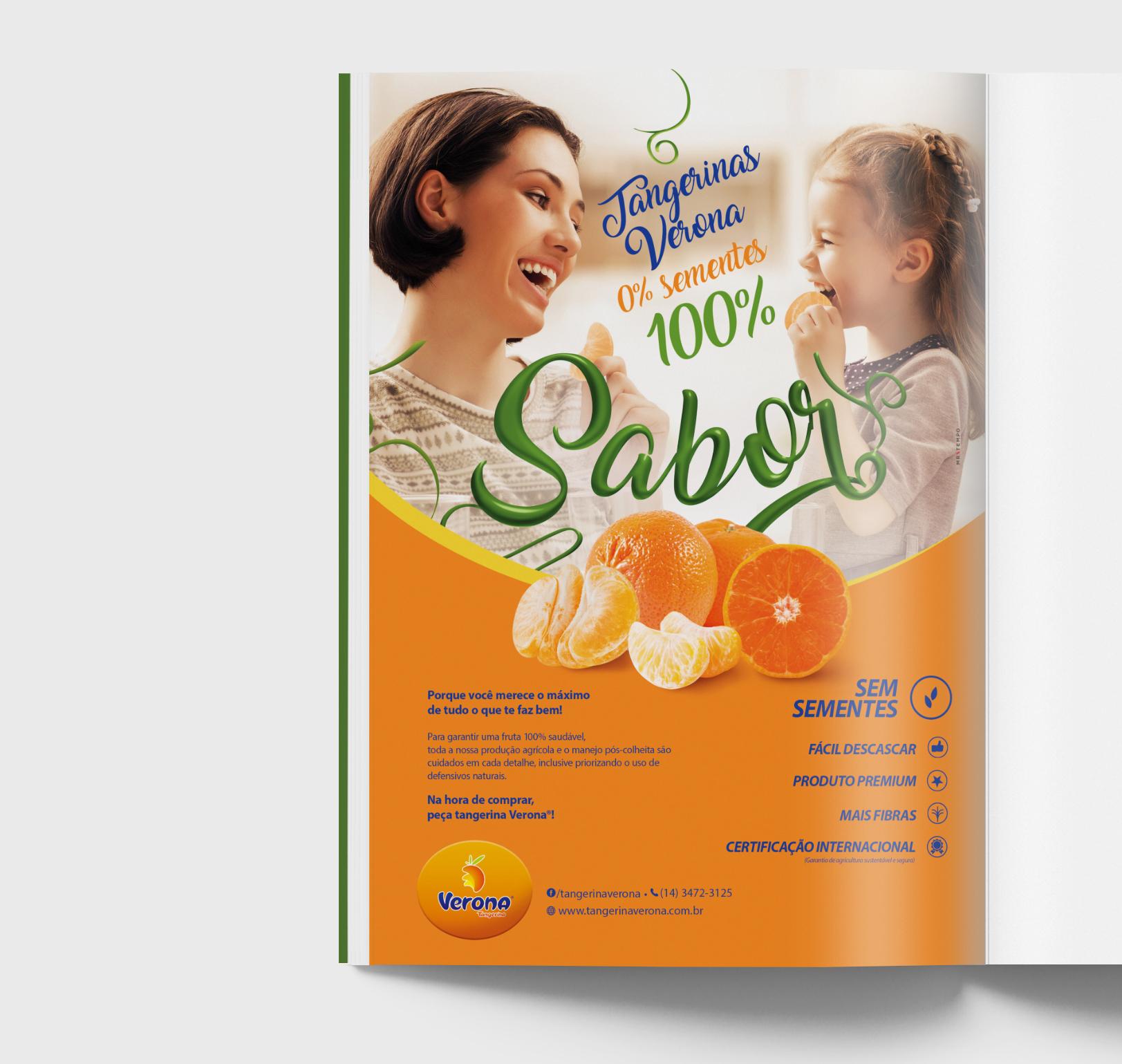 Anúncio para Revista