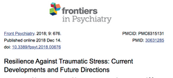 Resilience Against Traumatic Stress