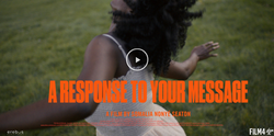 A Response to Your Message